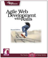 Agile Web Development with Rails 2nd Edition - Cover