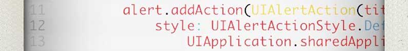 DeveloperEcke: iOS 8 ActionSheets in Swift zum Öffnen von Web-URL, Twitter und E-Mail
